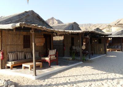 oman strandhuisjes