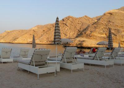 Oman strand Masqat