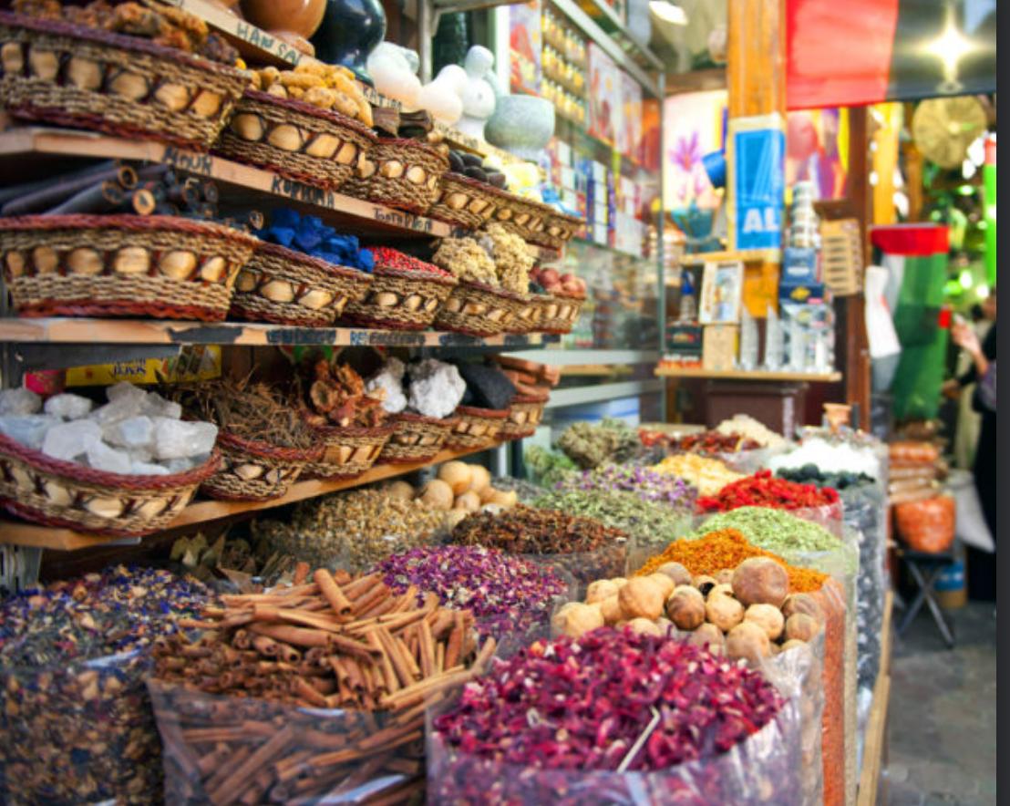 maatwerk reizen Spice souk